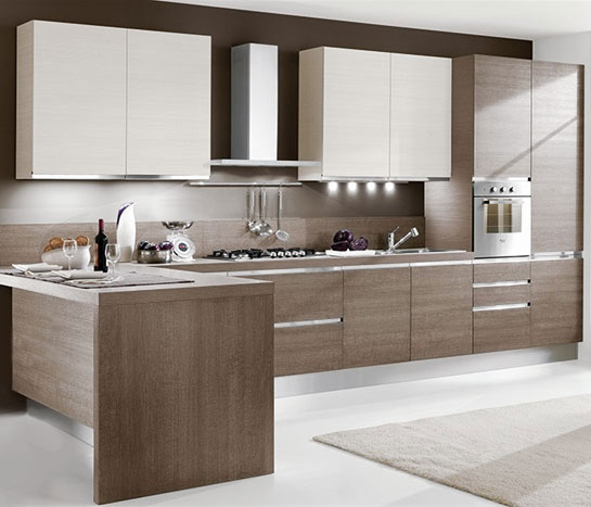 Cucina moderna pannelli affordable colore paraschizzi - Pannelli paraschizzi per cucina ...
